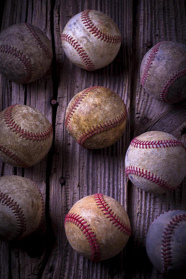 Ball Photograph - Baseball Memories by Garry Gay