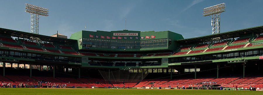 Fenway Park Photograph - Baseballs Hollowed Ground by Paul Mangold