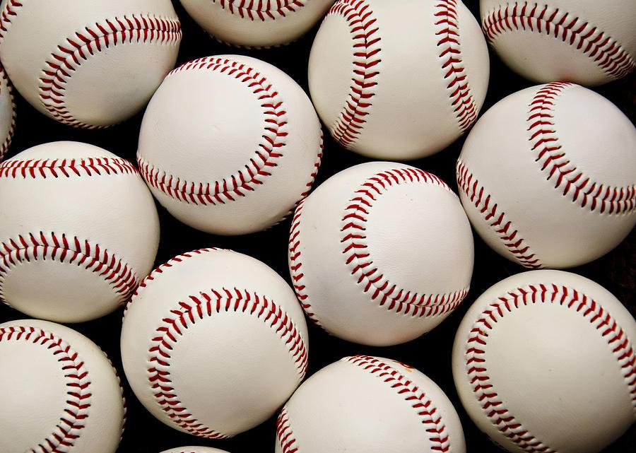 Baseball Photograph - Baseballs by Ricky Barnard
