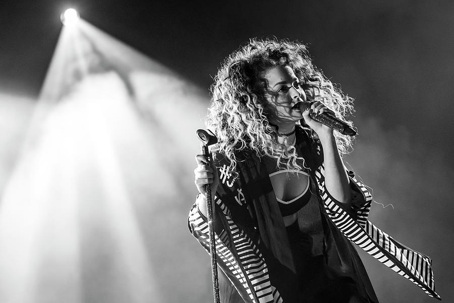 People Photograph - Basement Jaxx And Ella Eyre Perform At by Neil Lupin