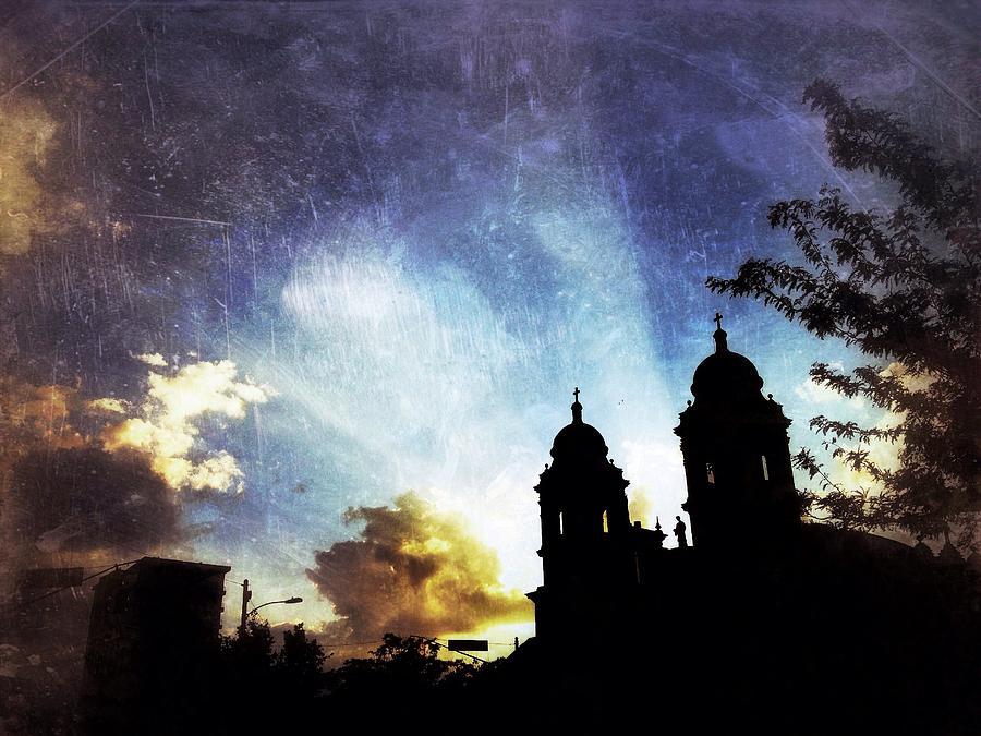 Asheville Photograph - Basilica At Sunset by Mark Block