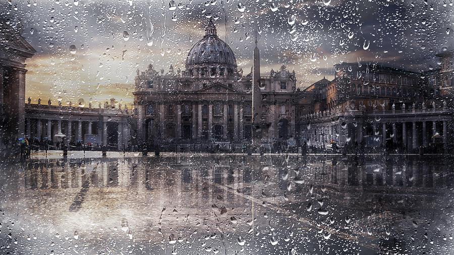 Basilica Di San Pietro Photograph - Basilica Di San Pietro by Nicodemo Quaglia