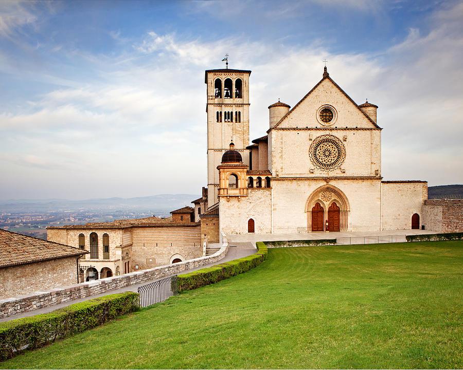 Italy Photograph - Basilica Of Saint Francis by Susan Schmitz