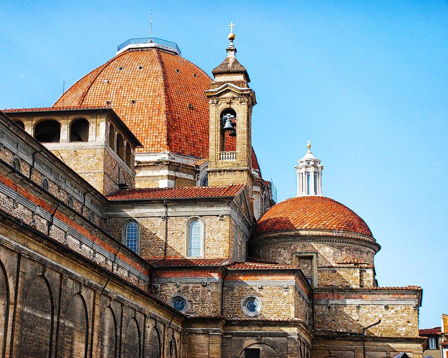 Basilica Photograph - Basilica Of San Lorenzo by David Waldo