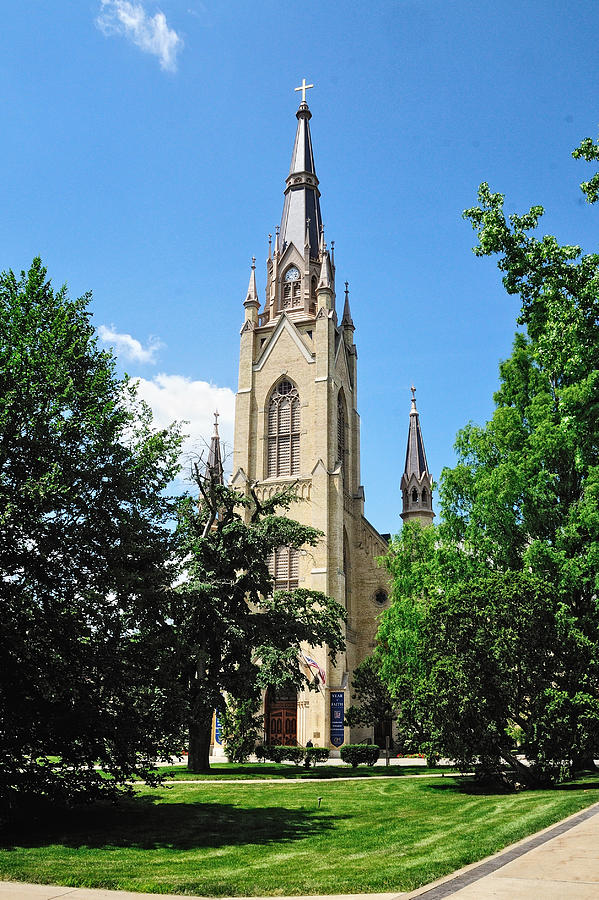 Basilica of the Sacred Heart by John Kiss