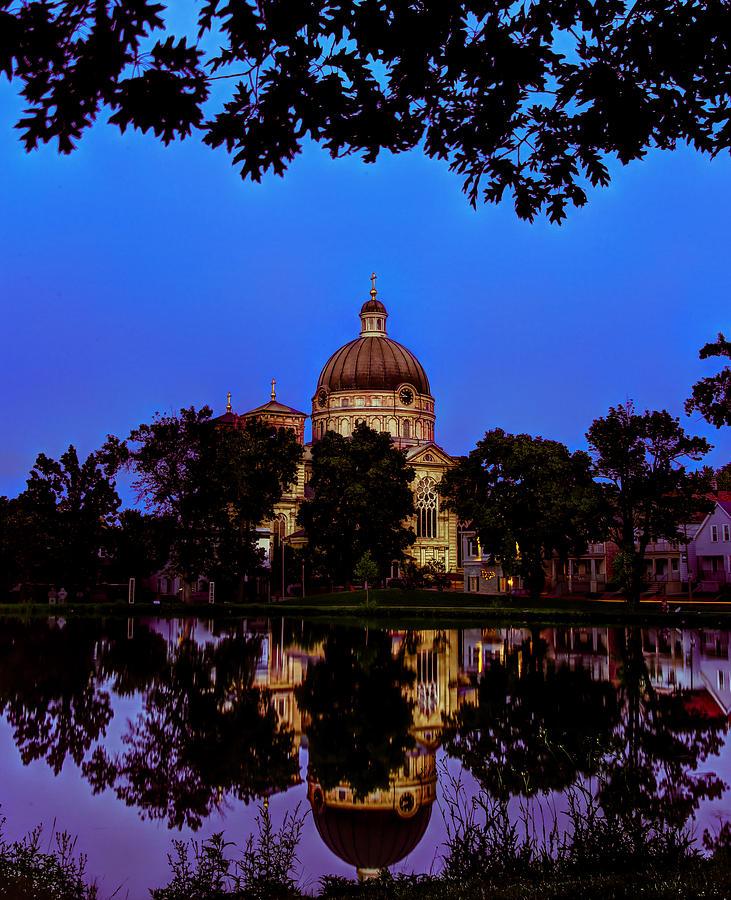 Landscape Photograph - Basilica St. Josaphat by Anna-Lee Cappaert