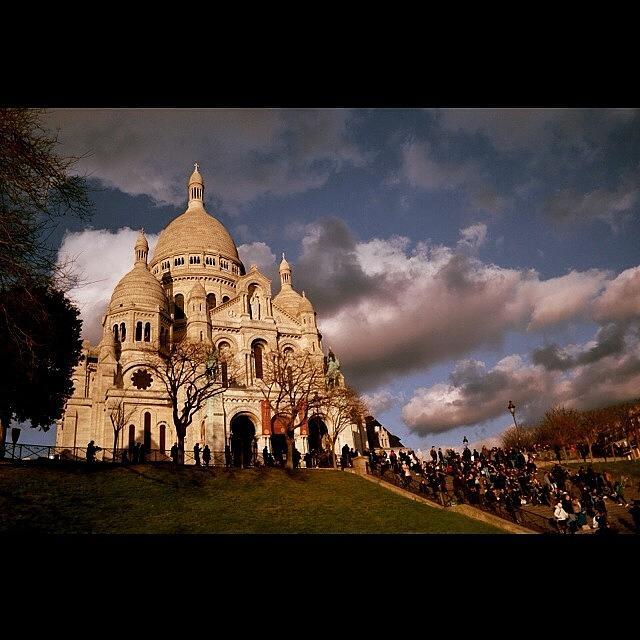 Basilica Photograph - #basilique #basilica #paris #sacrecoeur by Ozan Goren