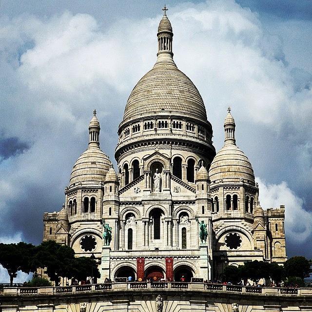 Europe Photograph - Basilique Du Sacré Coeur, #paris by Luisa Azzolini