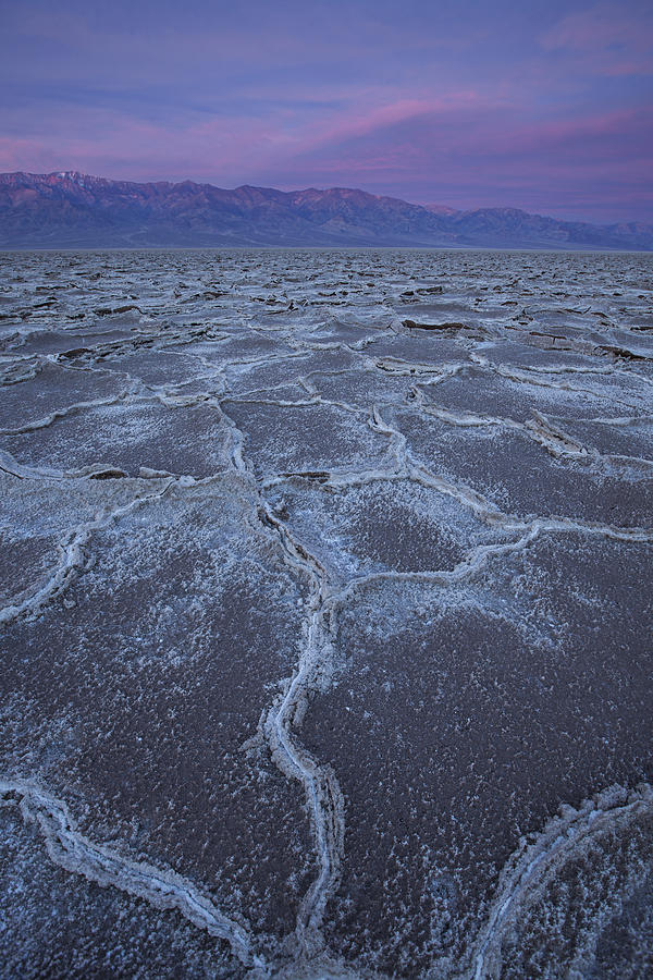 Badwater Basin Photograph - Basin Awaken by Tony Santo