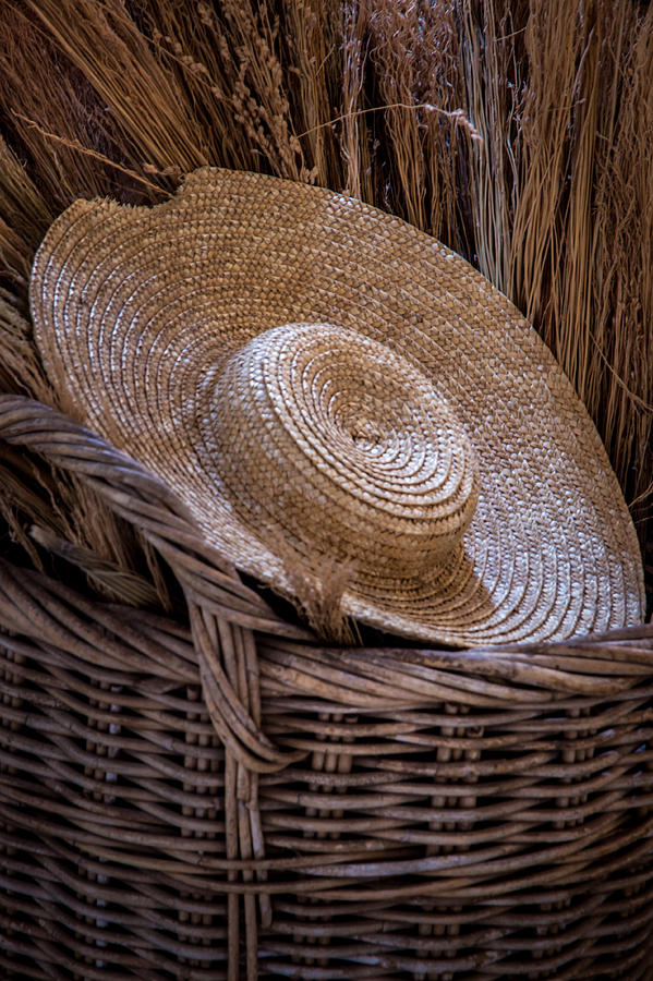 Basket Of Straw Photograph