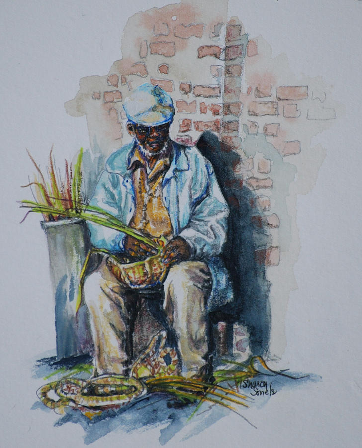 Basket Weaver by Sharon Sorrels