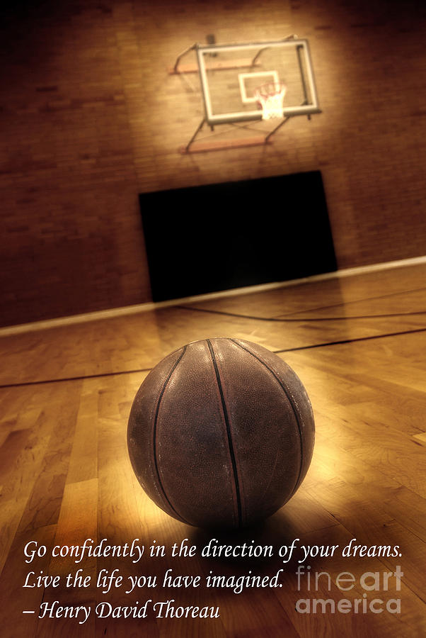 In Photograph - Basketball And Success by Lane Erickson