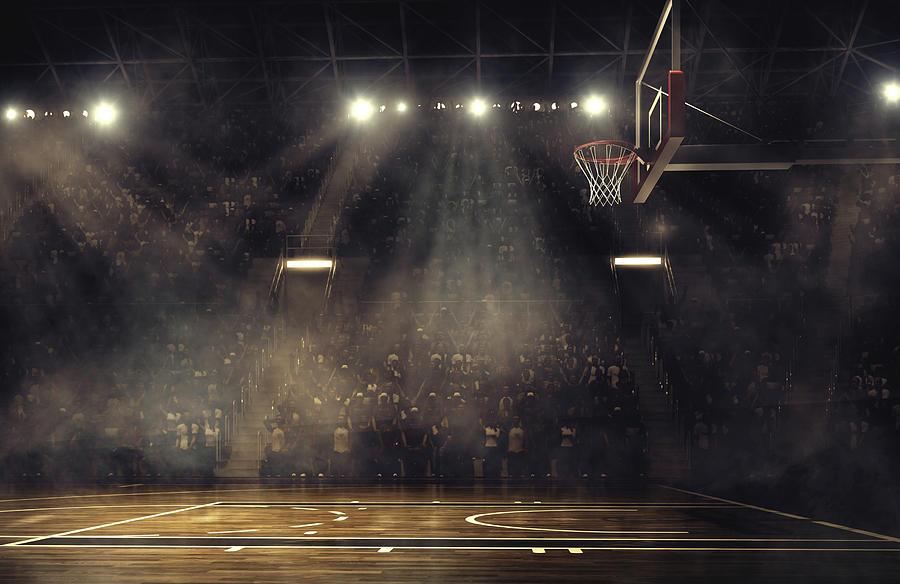Basketball Arena Photograph by Dmytro Aksonov