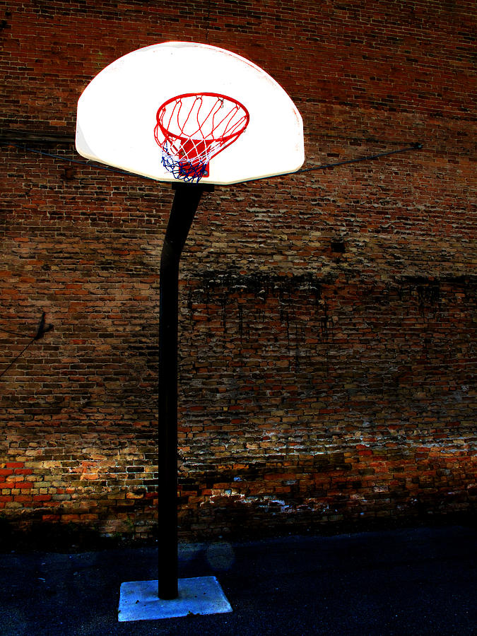 In Photograph - Basketball by Lane Erickson