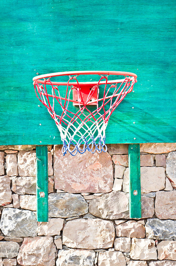 Basketball Net Photograph