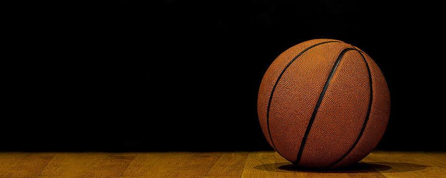 Basketball Photograph - Basketball Panorama by Andrew Soundarajan