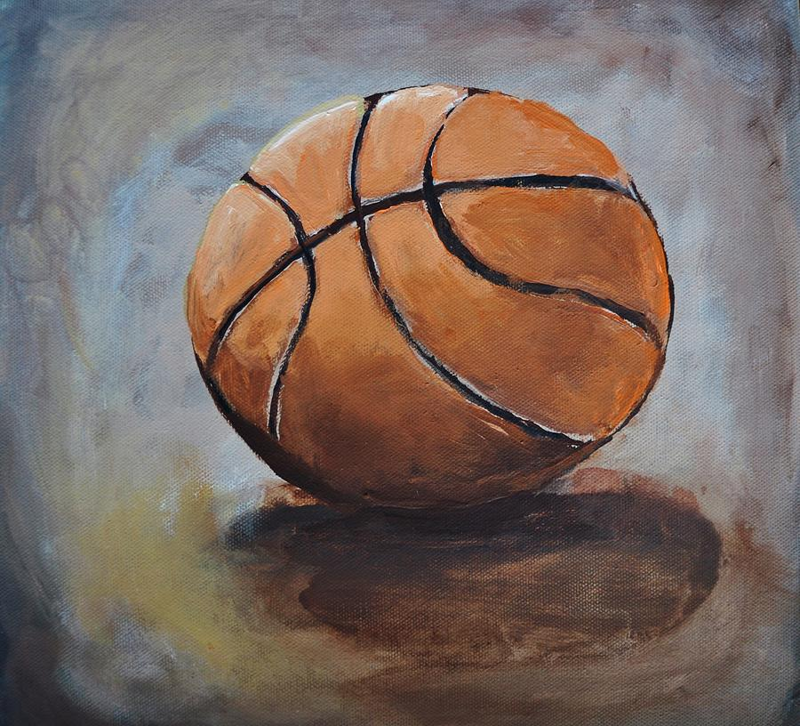 Basketball Painting - Basketball  by Shannon Lee