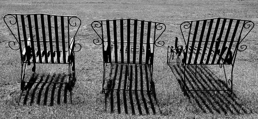 Chairs Photograph - Basking by Kaleidoscopik Photography