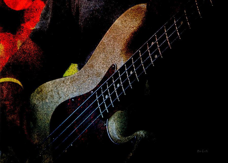 Bass Photograph - Bass Guitar by Bob Orsillo