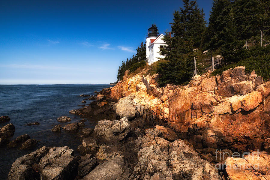 Bass Harbor Lighthouse by Deborah Scannell