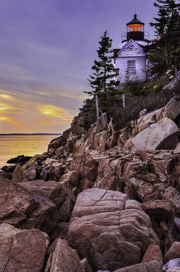 Bass Photograph - Bass Head Lighthouse by Thomas Schoeller