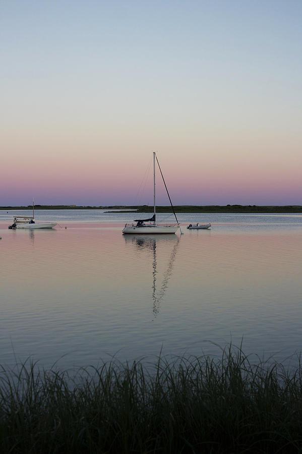 Sail Photograph - Bass River Reflections by Jill Blackwood
