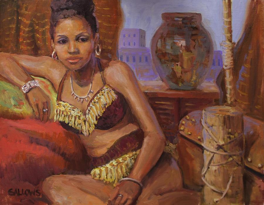 Bathsheba Painting - Bathsheba by Nora Sallows