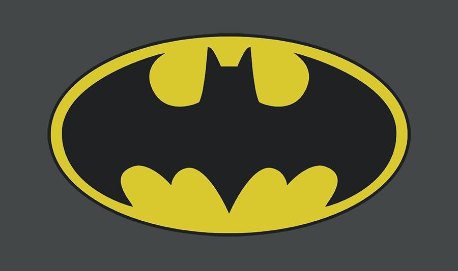 Batman Digital Art - Batman - Classic Bat Logo by Brand A
