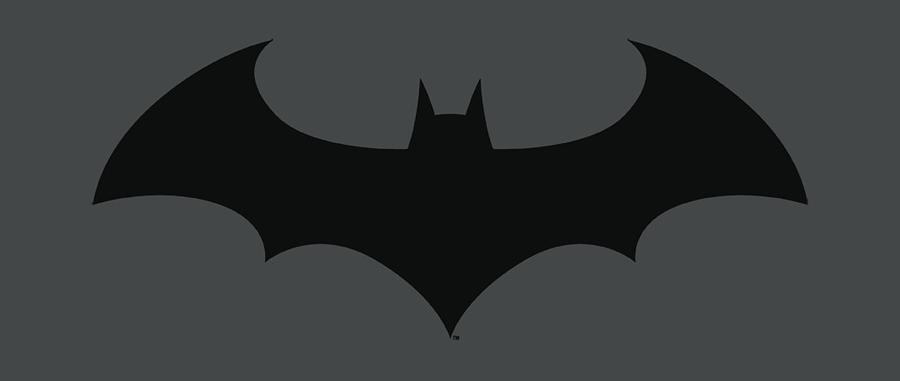 Batman Digital Art - Batman - Hush Logo by Brand A