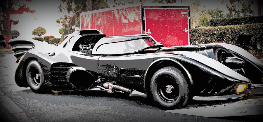 Batmobile Photograph - Batmobile by Cathy Smith