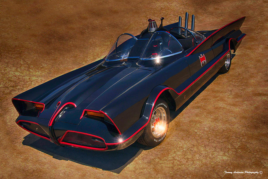 1965 Ford Photograph - Batmobile by Tommy Anderson