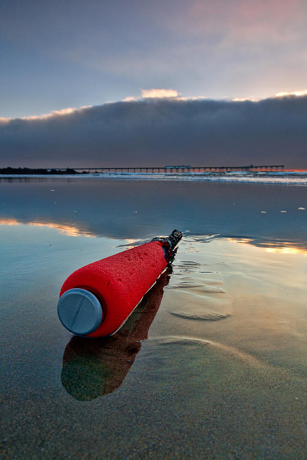 Beach Photograph - Batter-ed By The Sea by Peter Tellone