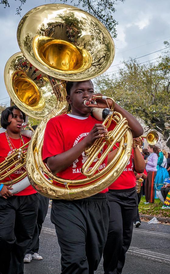 Nola Photograph - Battered Tuba Blues by Steve Harrington