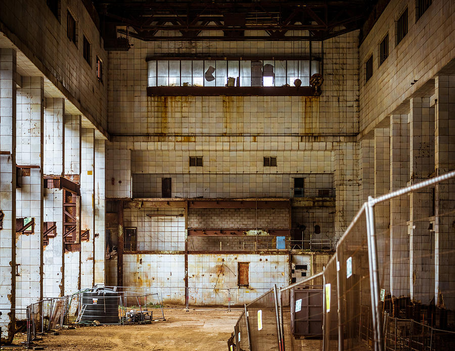 Factory Photograph - Battersea Power Station Interior by Dutourdumonde Photography