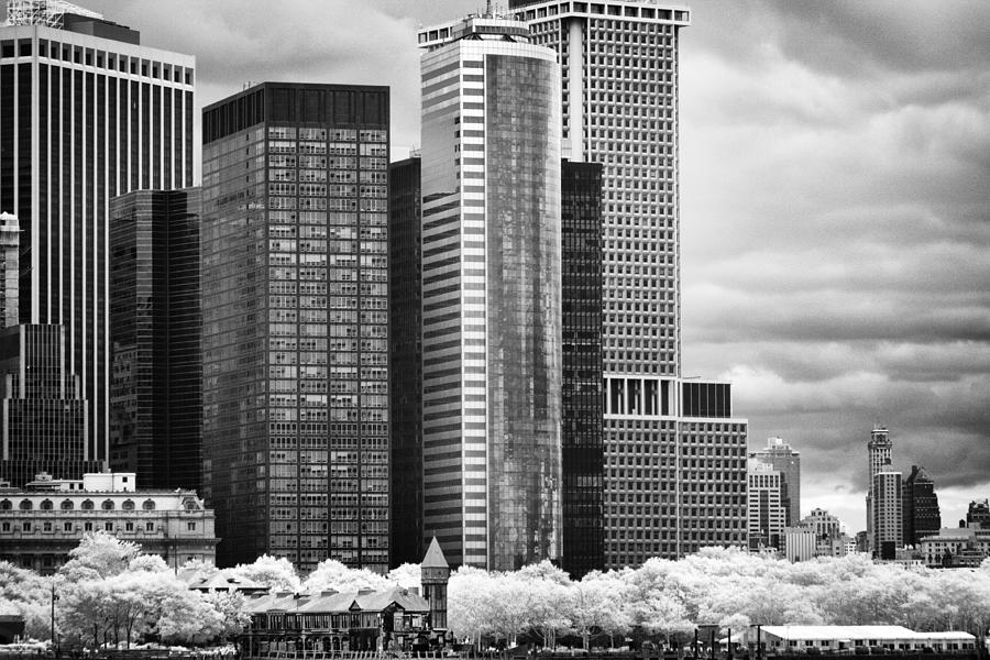 Battery Park BW IR by Dave Beckerman