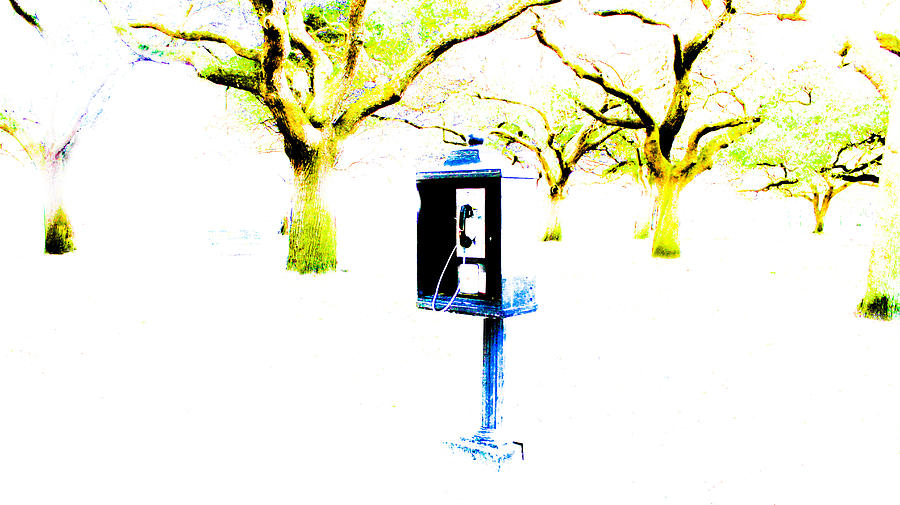 Payphone Photograph - Battery Payphone by Philip Zion