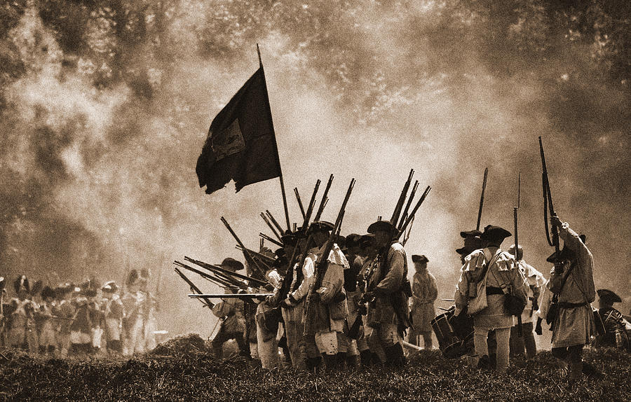 American Revolution Photograph - Battle Of Wyoming II by Jim Cook