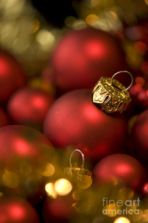 Background Photograph - Baubles by Anne Gilbert