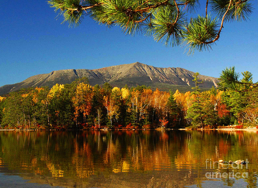 Reflections Photograph - Baxter Fall Reflections  by Alana Ranney