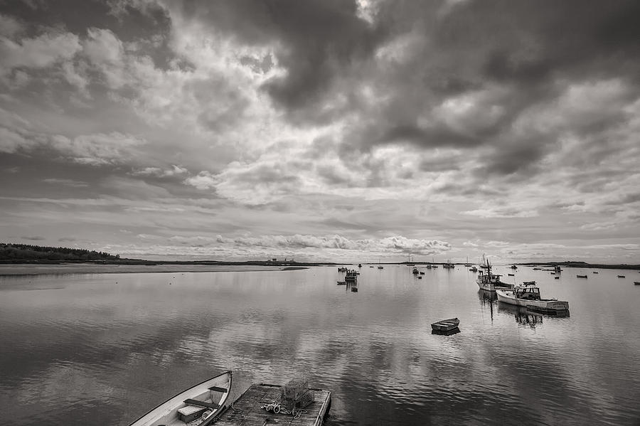 Horizontal Photograph - Bay Area Boats by Jon Glaser