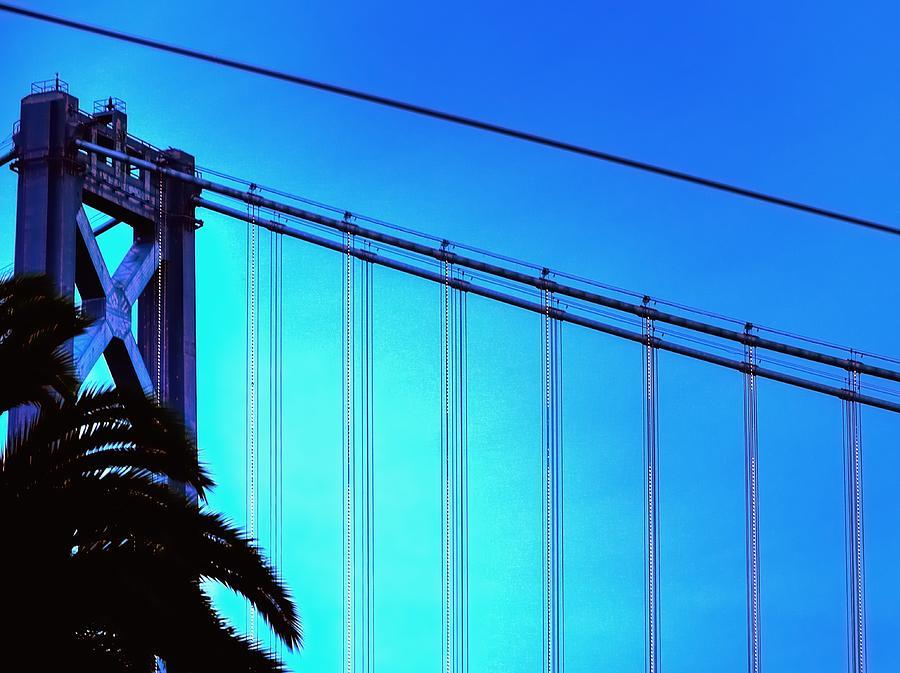 Hdr Photograph - Bay Bridge 19702 by Jerry Sodorff