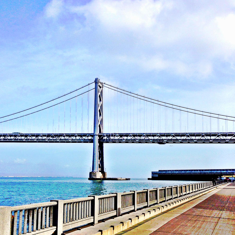 Bay Bridge Photograph - Bay Bridge by Julie Gebhardt