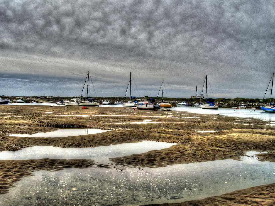 Boat House Photograph - Bay Force by Doc Braham