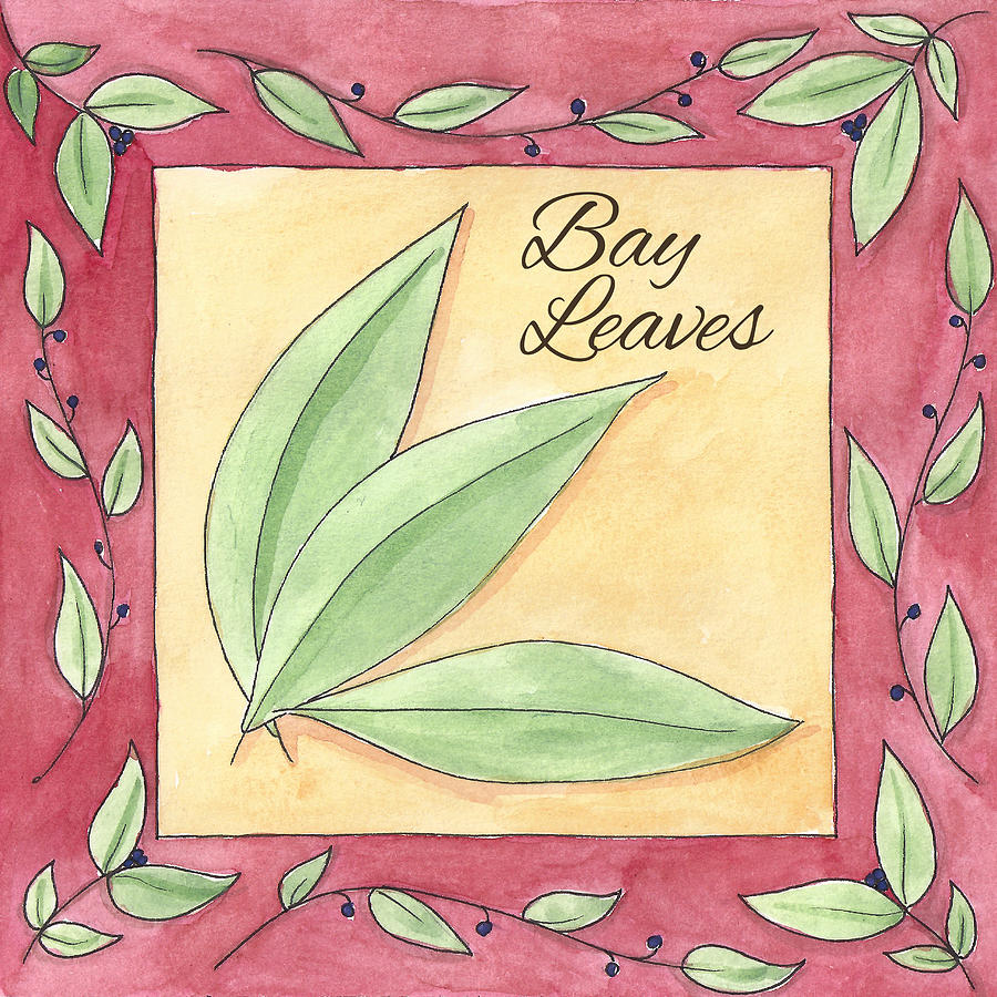 Bay Leaves Painting