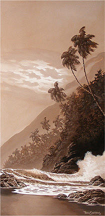 Hawaii Painting - Bay Of Antiquity by Trey Surtees