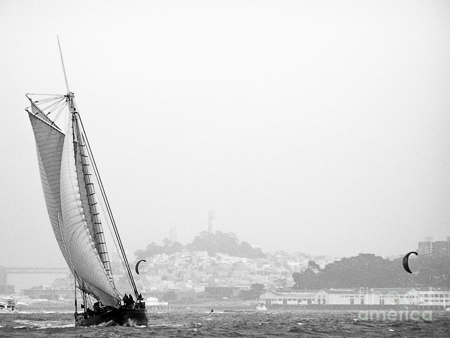 Sailing Photograph - Bay Sail by Patty Descalzi