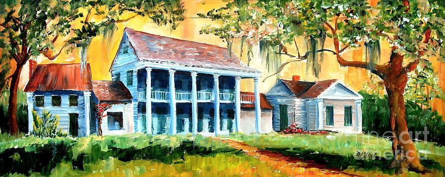 Louisiana Painting - Bayou Country by Diane Millsap