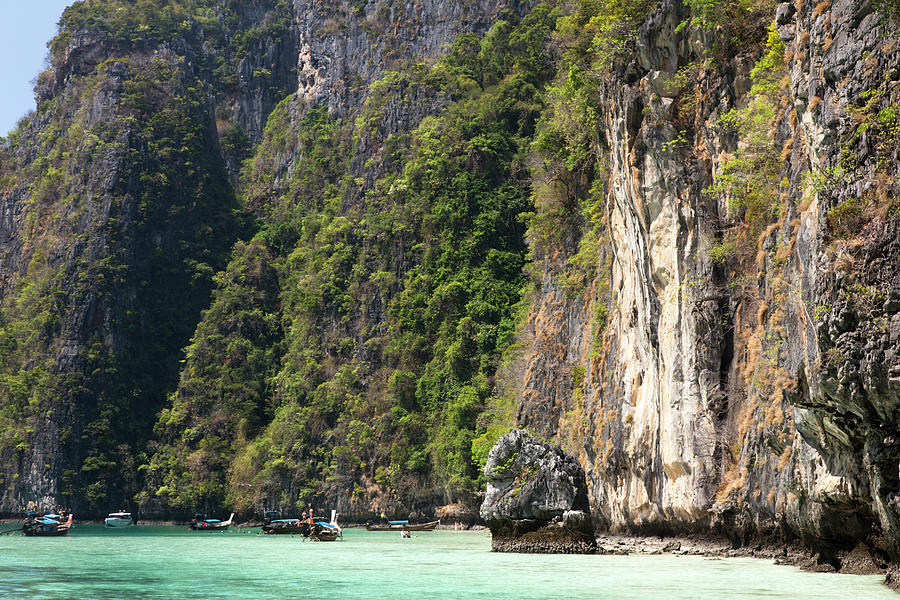 Bays Of Koh Phi Phi Leh Island, Krabi Photograph by Pawel Toczynski