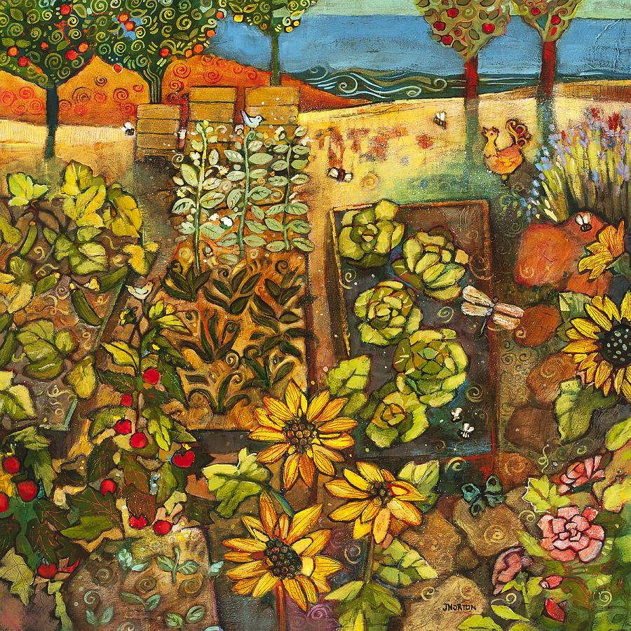 Calaveras Azucar y Pan Dulce · Backyard Organic Garden by Jen Norton 922c9b839a821