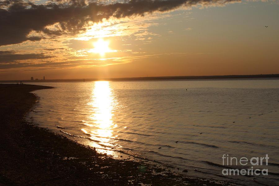 Bayille Sunset Photograph - Bayville Sunset by John Telfer
